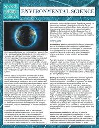 One Month AP Environmental Science Study Guide - Albert