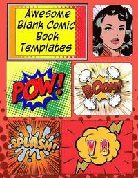 Awesome Blank Comic Book Templates: Create Your Own Comics (häftad)