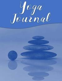 Yoga Journal: 4 Week Yoga Planner - Beautiful Watercolor Journal - Blue Cairn (häftad)