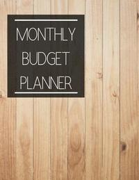 monthly budget planner clean wood design budget planner book with
