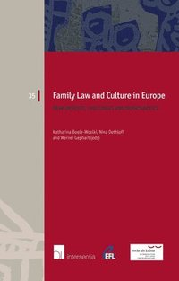 Family Law and Culture in Europe (häftad)