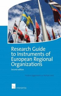 Research Guide to Instruments of European Regional Organizations (häftad)