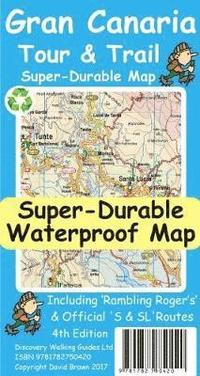 Gran Canaria Tour &; Trail Super-Durable Map