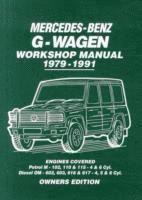 Mercedes-Benz G-Wagen Workshop Manual 1979-1991 (häftad)