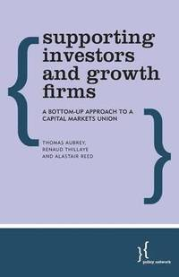 Supporting Investors and Growth Firms (häftad)