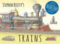 Stephen Biesty's Trains (inbunden)