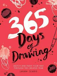 365 Days of Drawing (häftad)