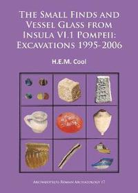 The Small Finds and Vessel Glass from Insula VI.1 Pompeii: Excavations 1995-2006 (häftad)