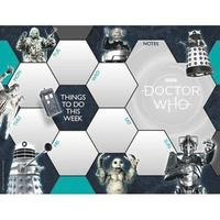 Doctor Who Desk Pad Official 2019 Calendar - Desk Pad Format