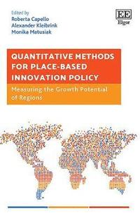 Quantitative Methods for Place-Based Innovation Policy (inbunden)