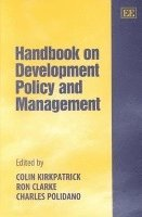Handbook on Development Policy and Management (inbunden)