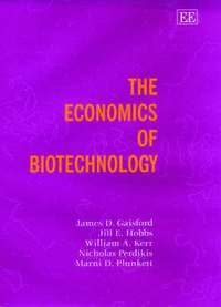 The Economics of Biotechnology (inbunden)
