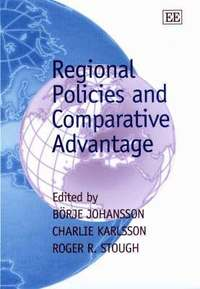 Regional Policies and Comparative Advantage (inbunden)
