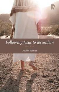 Following Jesus to Jerusalem (häftad)