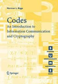 Codes An Introduction To Information Communication And Cryptography Haftad