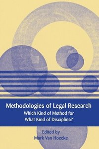 Methodologies of Legal Research (inbunden)