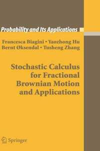 Stochastic Calculus for Fractional Brownian Motion and Applications (inbunden)