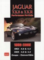 Jaguar XK8 and XKR Performace Portfolio 1996-2005 (häftad)