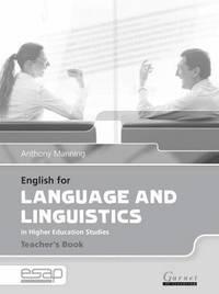 English for language and linguistics teacher book anthony manning english for language and linguistics teacher book kartonnage fandeluxe Images
