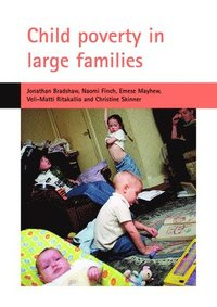 Child poverty in large families (häftad)