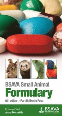 BSAVA Small Animal Formulary (häftad)