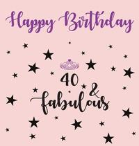 happy 40 birthday party guest book girl birthday guest book