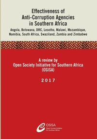 Effectiveness of Anti-Corruption Agencies in Southern Africa (häftad)