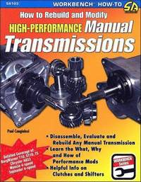 How to Rebuild &; Modify High Performance Manual Transmissions (häftad)