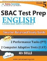 SBAC Test Prep: Grade 5 English Language Arts Literacy (ELA) Common Core  Practice Book and Full-length Online Assessments: Smarter Bal av Lumos