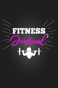 fitness journal workout journal diet log book unguided gym