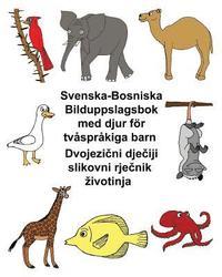 Radiodeltauno.it Svenska-Bosniska Bilduppslagsbok med djur för tvåspråkiga barn Image