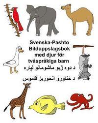 Tortedellemiebrame.it Svenska-Pashto Bilduppslagsbok med djur för tvåspråkiga barn Image
