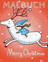 ❄ Frohliche Weihnachten Malbuch 7 Jahre ❄ (Malbuch 7 ...