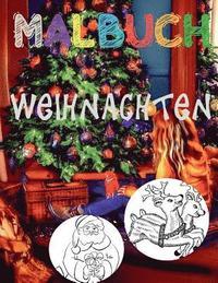 ❄ Weihnachten Malbuch Für Kinder ❄ (Malbuch Inspiration): ❄ Christmas  Coloring Book Kids ❄ Coloring Book Teens ❄ Co av Kids Creative Germany  (Häftad)