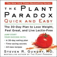 The Plant Paradox Quick and Easy (cd-bok)