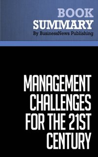 management challenges for the 21st century summary