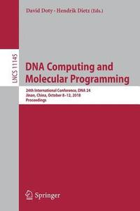 DNA Computing and Molecular Programming (häftad)