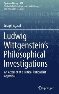Ludwig Wittgenstein's Philosophical Investigations (inbunden)