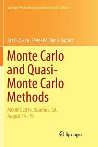 Monte Carlo and Quasi-Monte Carlo Methods (häftad)
