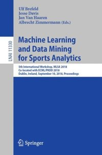 Machine Learning and Data Mining for Sports Analytics (e-bok)