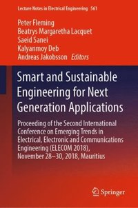 Smart and Sustainable Engineering for Next Generation Applications (e-bok)