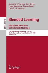 Blended Learning: Educational Innovation for Personalized Learning (häftad)