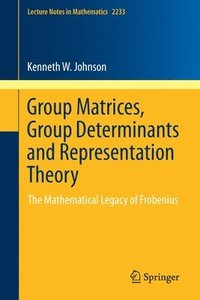 Group Matrices, Group Determinants and Representation Theory (häftad)