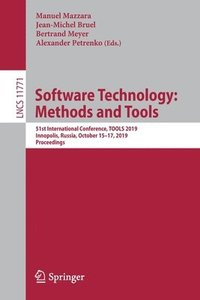 Software Technology: Methods and Tools (häftad)