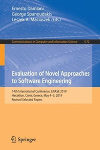 Evaluation of Novel Approaches to Software Engineering (häftad)