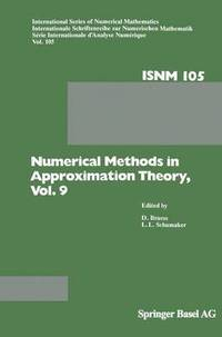 approximation theory and methods  Numerical Methods in Approximation Theory, Vol. 9 - Dietrich Braess ...