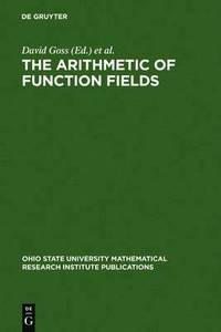 The Arithmetic of Function Fields (inbunden)