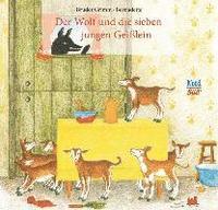 der wolf und die sieben jungen geißlein - brüder grimm - bok 9783314102257 | bokus