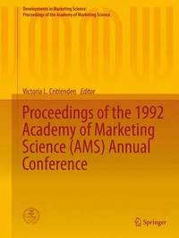 Proceedings of the 1992 Academy of Marketing Science (AMS) Annual Conference (inbunden)