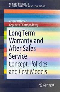 Long Term Warranty and After Sales Service (häftad)